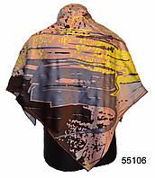 Шелковый атласный платок модерн
