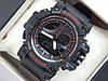Спортивные часы Casio G-Shock черные с красным