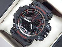 Спортивные часы Casio G-Shock черные с красным, фото 1