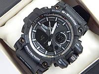 Спортивные часы Casio G-Shock черные с белым, фото 1