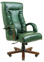 Кресло Оникс Кожа Люкс комбинированная Авокадо (Richman ТМ)
