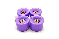 Колеса для Пенни борда CLASSIC фиолетовые полиуретановые 60 х 40 мм. 1 шт