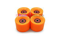 Колеса для Пенни борда CLASSIC оранжевые полиуретановые 60 х 40 мм. 1 шт