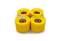 Колеса для Пенни борда CLASSIC желтые полиуретановые 60 х 40 мм. 1 шт