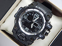 Спортивные часы Casio G-SHOCK черные с серибристым, фото 1