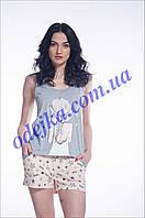 Домашний комплект, пижама женская LNP 082/001 (ELLEN). Коллекция весна-лето 2017! Спешите быть первыми!