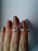 """Серебряное кольцо с золотыми пластинами """"Дуэт"""""""