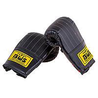 Перчатки для работы с мешком черные BWS-4006DX-B