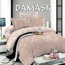Комплект постельного белья Вилюта поплин Дамаск 005 евро