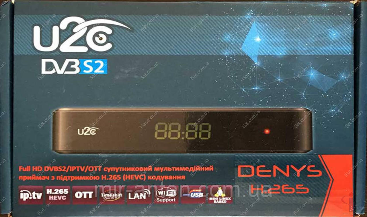 Спутниковый ресивер U2C Denys H.265