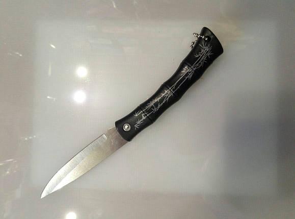 Нож раскладной бамбук В21-23, фото 2