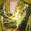 Палантин шёлк зелёного цвета , фото 2