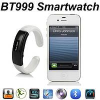 """Стильный женский bluetooth браслет - часы с функциями """"антиутери телефона"""" c возможностью разговора (BT-999)"""