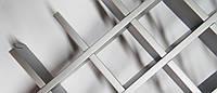 Стеля грильято 150*150*30 оцинкована біла /чорна /металік, фото 1