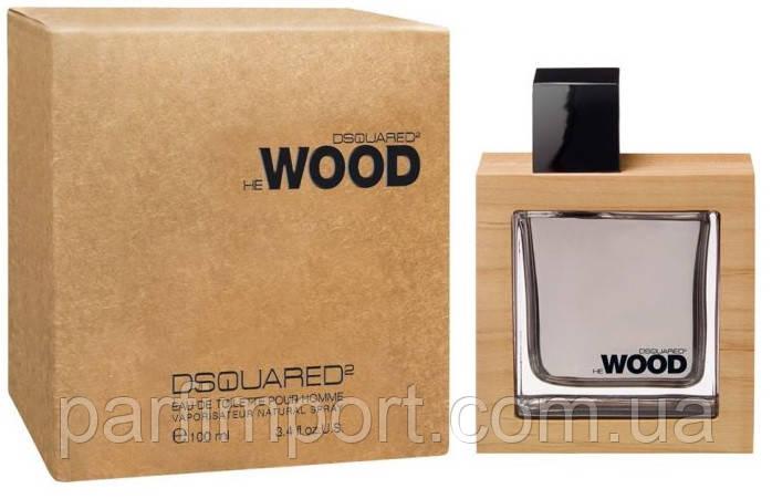 DSQUARED2 HE WOOD edt 100 ml туалетна вода чоловіча (оригінал оригінал Італія)