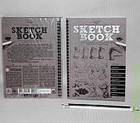 Скетч комплект креативного творчества Sketch book Курс рисования SB-01-01 (рус)