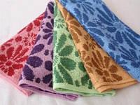 Махровое кухонное полотенце 25х50