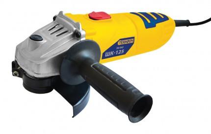 Угловая шлифмашина ШК-125 750 Вт, 11000 об/мин, d 125 мм Техносіч