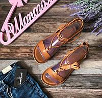 Комфортные сандалии ASOS из натуральной кожи в модном дизайне   SH1216