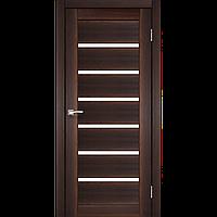 Межкомнатная дверь PORTO орех сатин белый PR-01