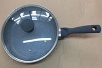 Сковорода с крышкой 26 см Lessner Marble Pro (88363-26)