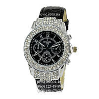 Наручные часы Chanel J12 Quartz Diamonds Black/Silver/Black  (реплика)