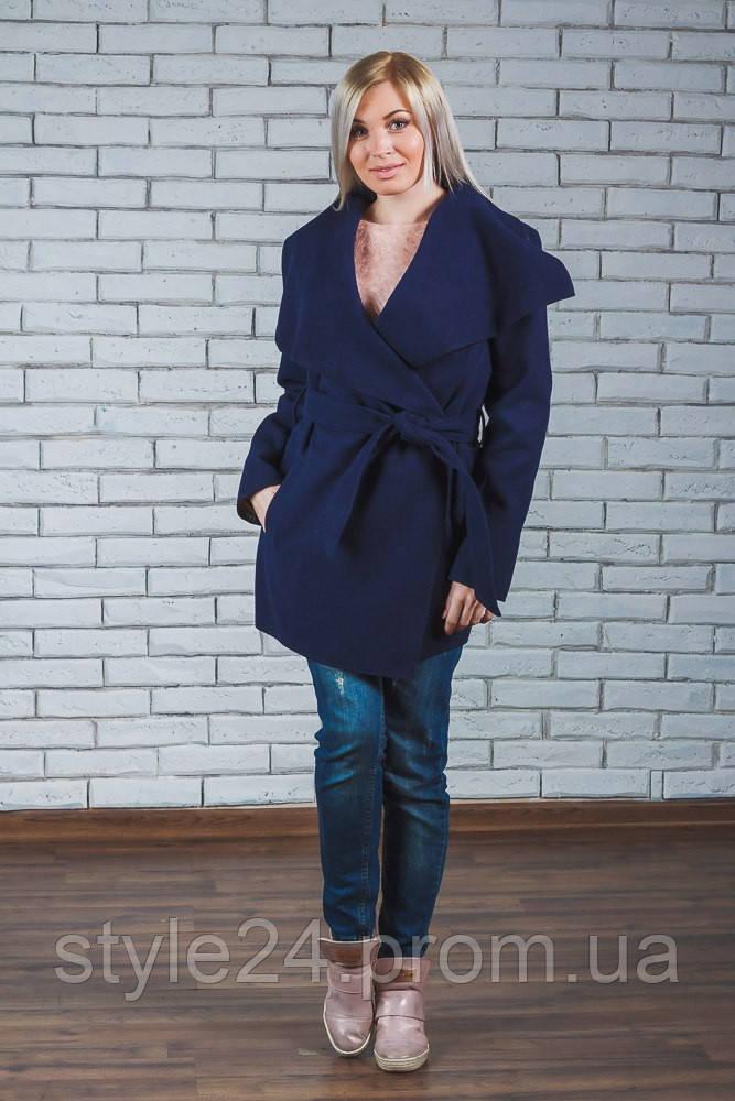 ЖІноче кашемірове коротке пальто.Розмір 44-54 - Стильний одяг «Роксана» в 9c1ab6c56cbe4