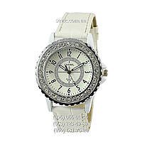 Наручные часы Chanel 8338 Quartz Diamonds All White (реплика)