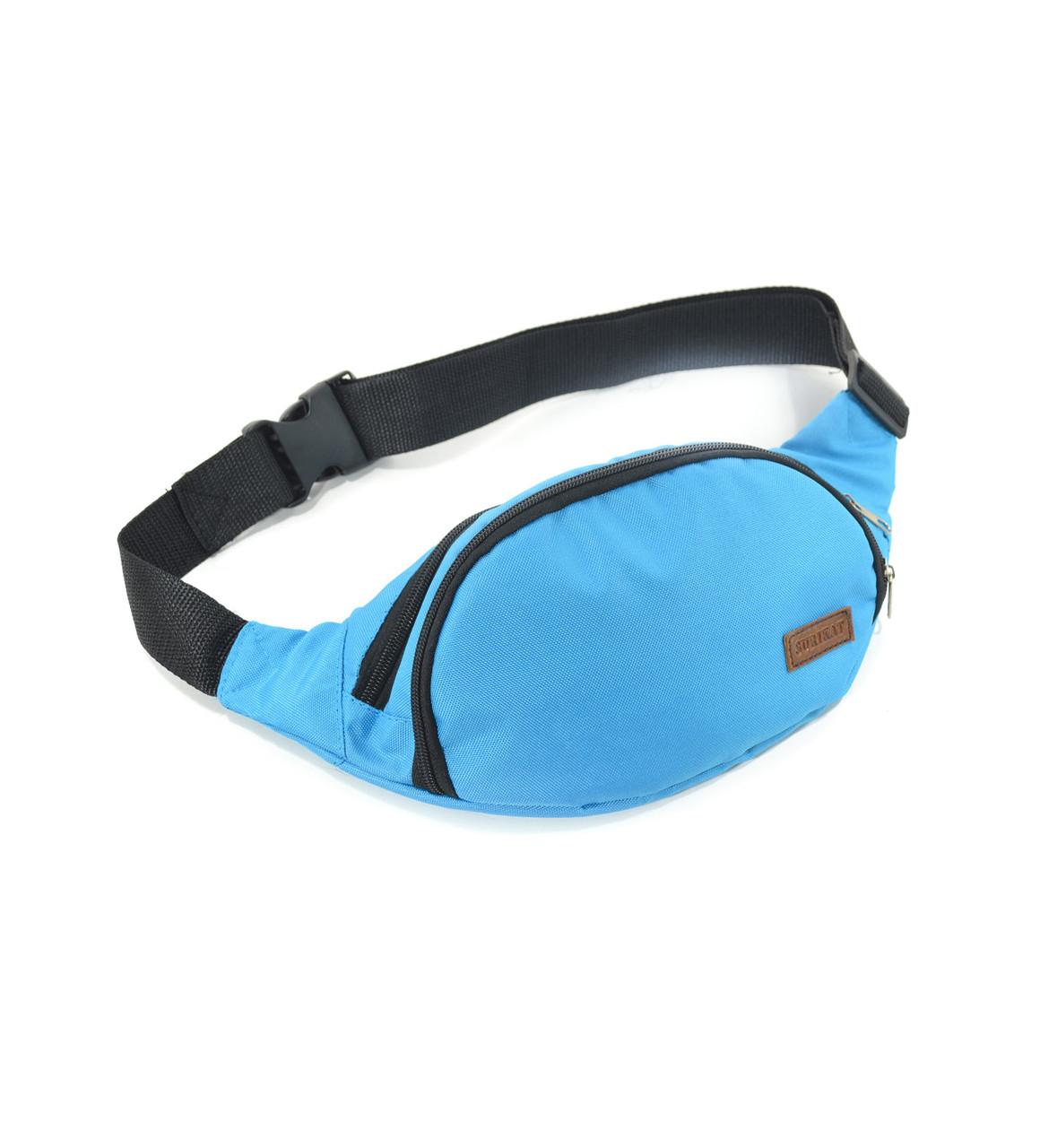 36cc9d10c4de Поясная сумка голубая Banan Surikat, цена 220 грн., купить в Луцке ...