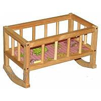 Кровать деревянная ВП 002 для кукол