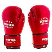 Перчатки боксерские TopTen красные DX TT3148-R