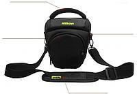 Практичный  чехол-сумка Nikon. Отлично подходит для небольших аксессуаров.  Хорошее качество.  Код: КГ855