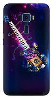 Чехол для Asus Zenfone 3 (ZE520KL) (Гитара)