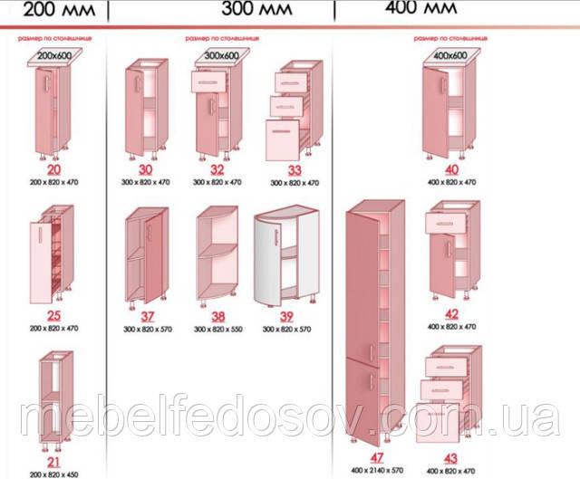 модульные элементы кухни хьюго глосс мебель стар