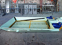 Винтовой конвейер - разгрузка ж/д вагонов типа хоппер, 30 - 45 т/час (цемент)