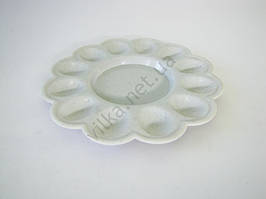 Тарелка пасхальная пластмассовая d 23 cm