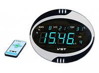 Часы говорящие время 770 Т-5: пульт ДУ, календарь, будильник, термометр