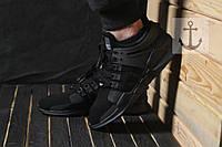 Мужские кроссовки Adidas Equipment Support ADV 🔥 (Адидас EQT Эквипмент) Tripple Black
