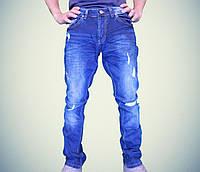 Мужские джинсы модные рваные