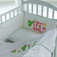 Детское постельное белье с принтом «милый мышонок»