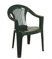 Кресло Irak Plastik Bahar EKO зеленое пластиковое