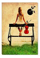 Светящиеся картина Startonight Абстракция Девушки Печать на Холсте Декор стен Дизайн дома Интерьер