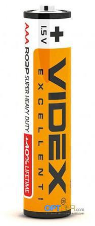 Батарейка AAA  Videx Excellent (мини пальчик)