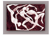 Светящиеся картина Startonight Силуэты Абстракция Печать на Холсте Декор стен Дизайн дома Интерьер