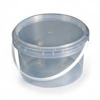 Пластиковое ведро для мёда( прозрачное) 0,5л