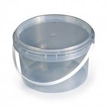 Відро для меду( прозоре) 0,5 л