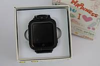 Детские умные часы Q200. (3G+GPS+камера 2.0 мП).   Черные, Черные, Черные