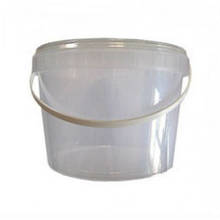 Відро для меду( прозоре) 3 л