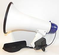 Рупор 1501 blue мегафон (запись голоса/20W/сирена/аккумулятор)