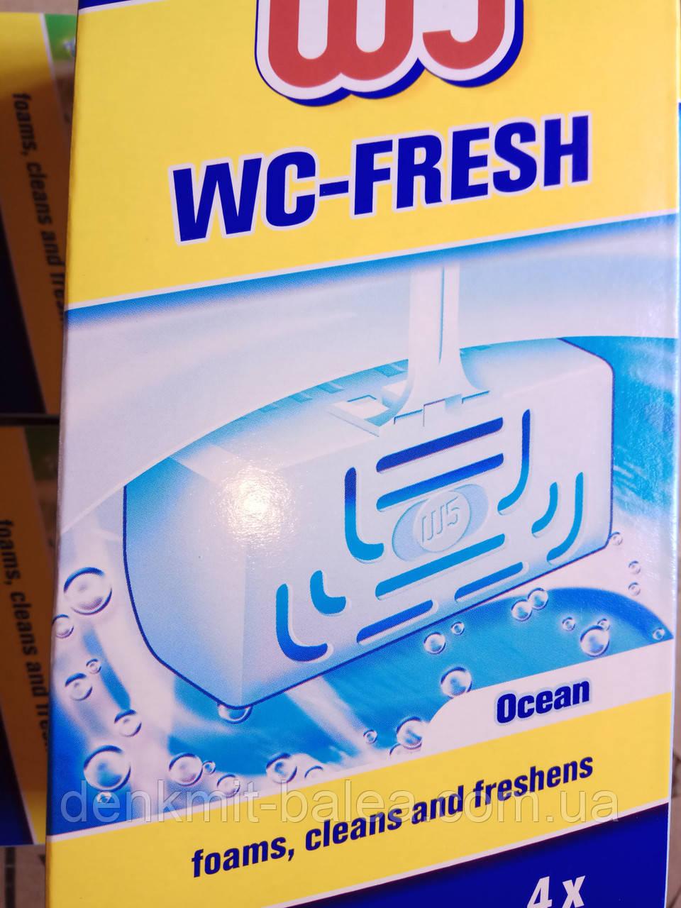 Освежитель для унитаза  Свежесть Океана  W5 WC  sticks 4 шт